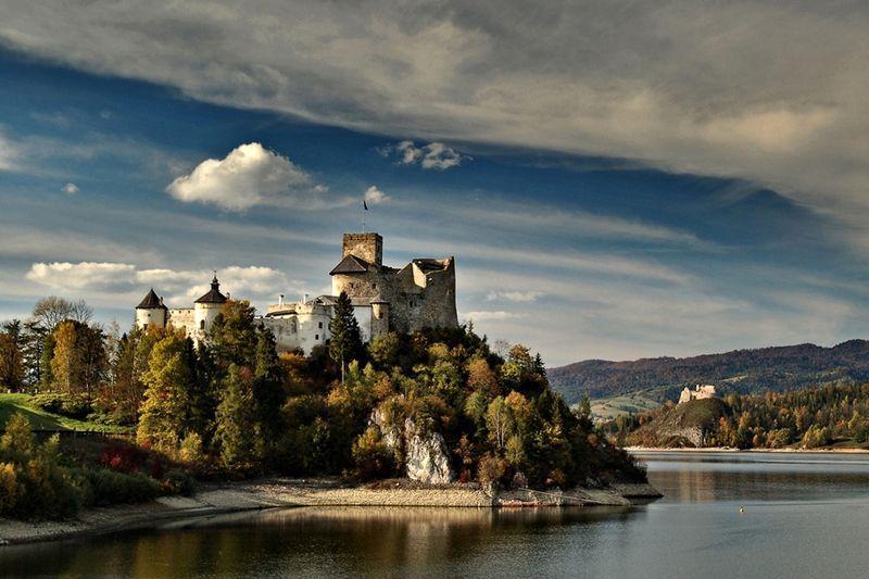 nidzica zamek