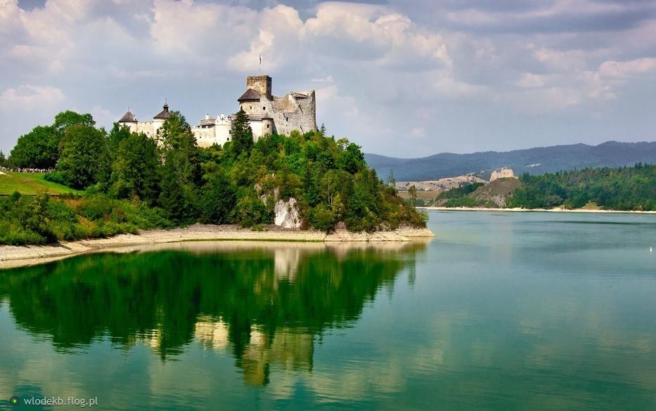 zamek w nidzicy - dunajec